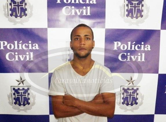 POLÍCIA PRENDE JOVEM QUE ESQUARTEJOU NAMORADA ADOLESCENTE NO BONFIM III