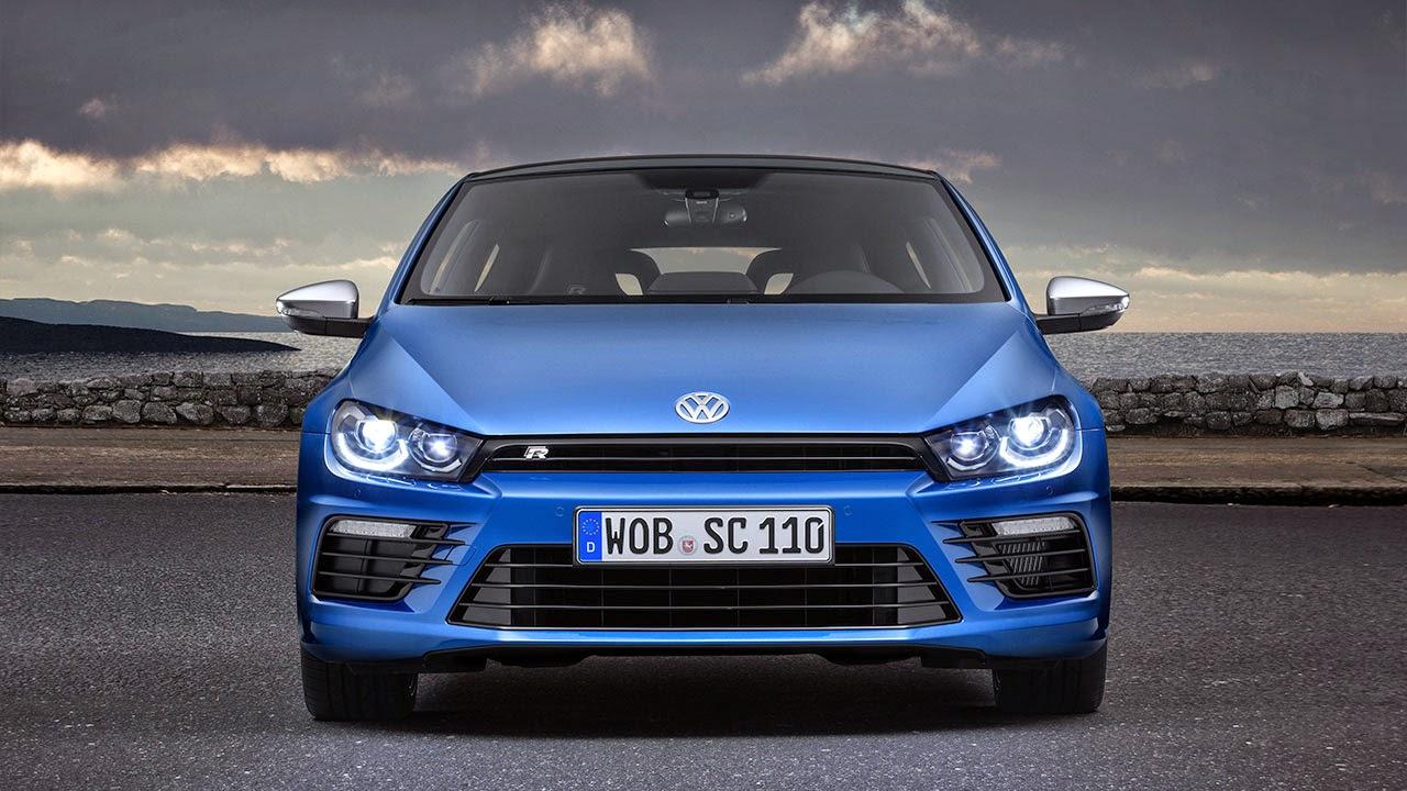 Volkswagen Scirocco R front