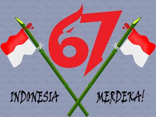 HUT 67 Tahun Indonesia Merdeka