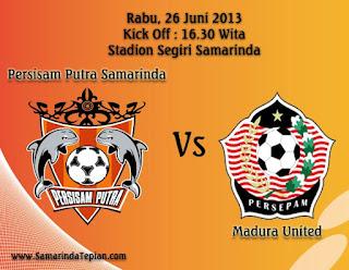 Prediksi Skor Persisam Samarinda vs Persepam MU 26 Juni 2013