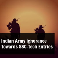 Indian Army ignorance  Towards SSC-tech Entries