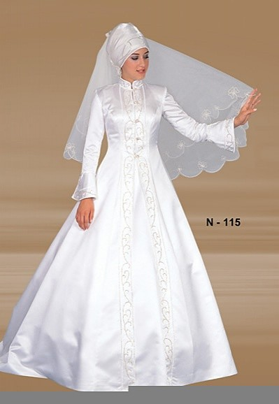 Muslimah Wedding Dress Styles 2011 Muslimah Wedding Dress Styles ...