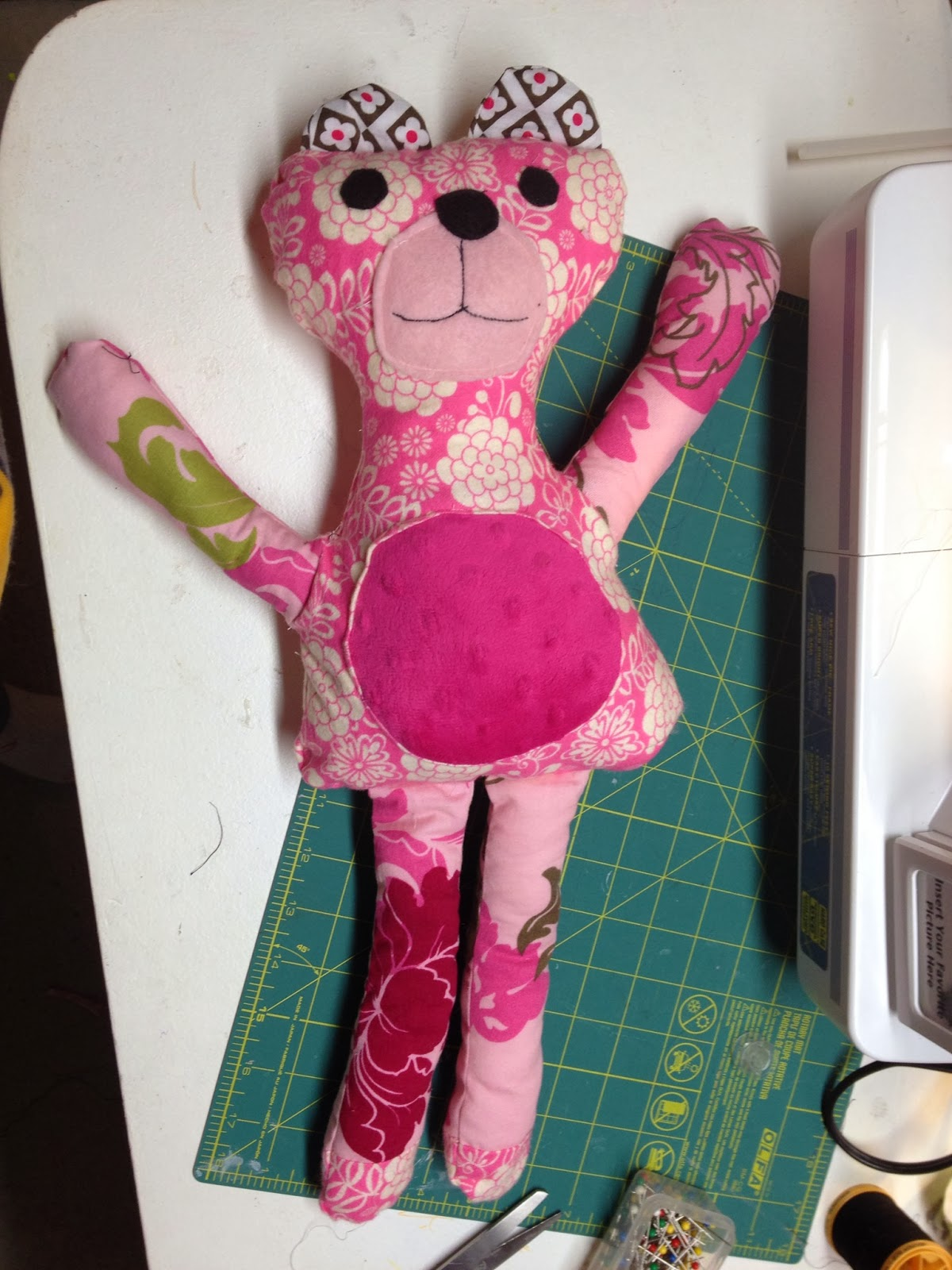 stuffed animal bear handmade