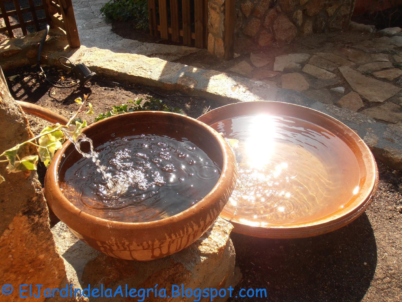 El jard n de la alegr a agua c mo instalar una bomba for Bomba de agua para fuente de jardin