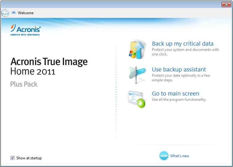 Acronis Backup and Security 2011: Acronis Antimalware CD ...