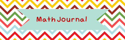 Free Math Journal Labels A Modern Teacher
