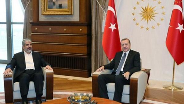 Khalid Misy'al Temui Erdogan Bahas Bentrok di Masjidil Aqsha
