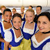 Lufthansa flight attendants costume in Oktoberfest
