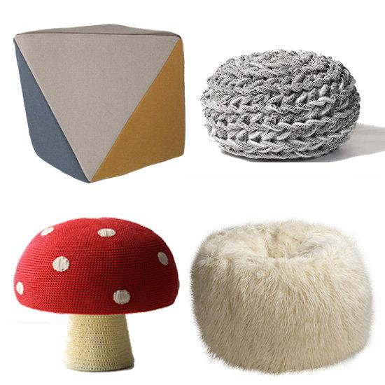 Creatividad y variedad de puffs