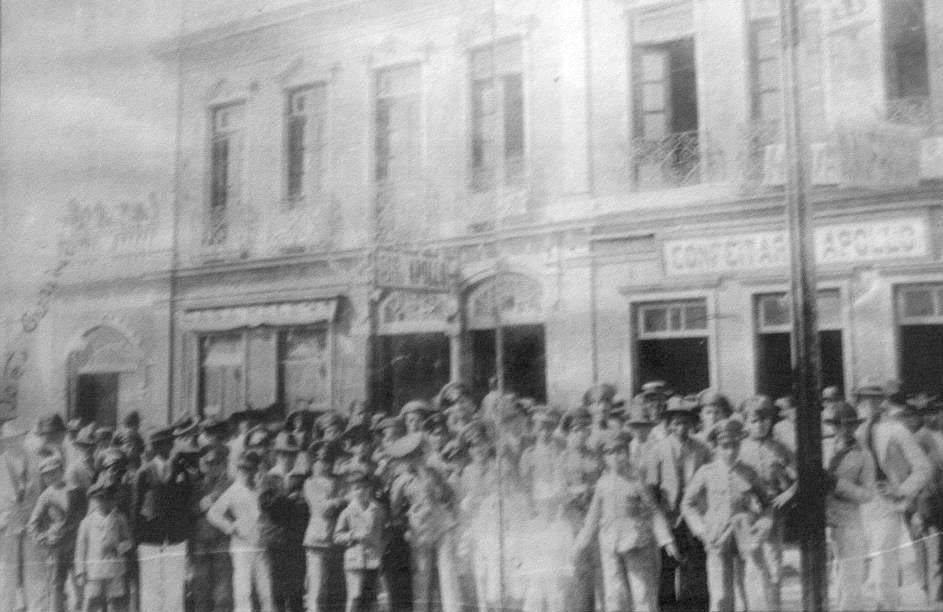 Cine e Cafeteria Apollo - Barbacena MG Andar Superior Loja Maçônica Regeneração Barbacenense- 1920