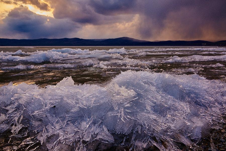Остатки Тургоякского льда