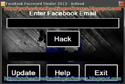 FaceBook Password Stealer 2013