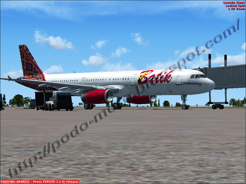 ... Dewe: Download Texture Pesawat Airbus A321_Batik Air Lines_For FSX