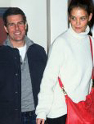 In Dance Studio Tom Cruise and Katie Holmes were Side-by-Side