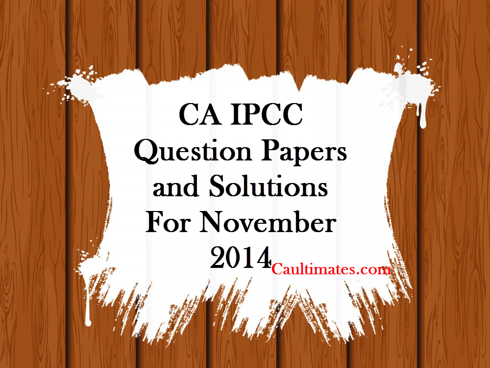 icwai intermediate model question papers