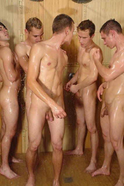 photo-of-naked-man-taking-a-shower-naked-men-having-a-three-some