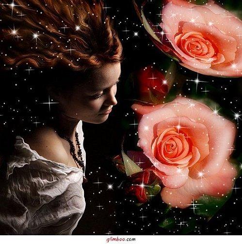 roses et femmes
