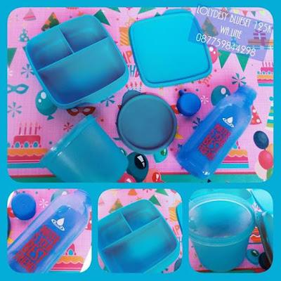 Tupperware Murah LolyDessy BlueSet