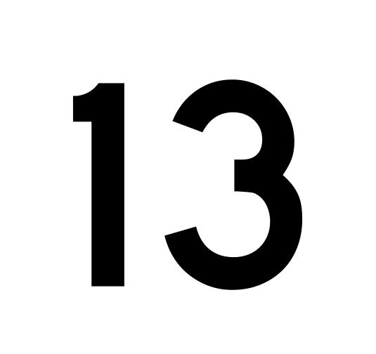 I g n o r n c i a dia 13 for Chiffre treize