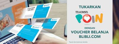 Promo Tukar TELKOMSEL POIN Dengan Voucher Belanja