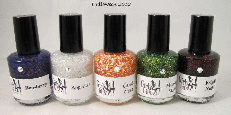 The Polish Well: Halloween Collections 2012 Round-Up - Indie Edition!