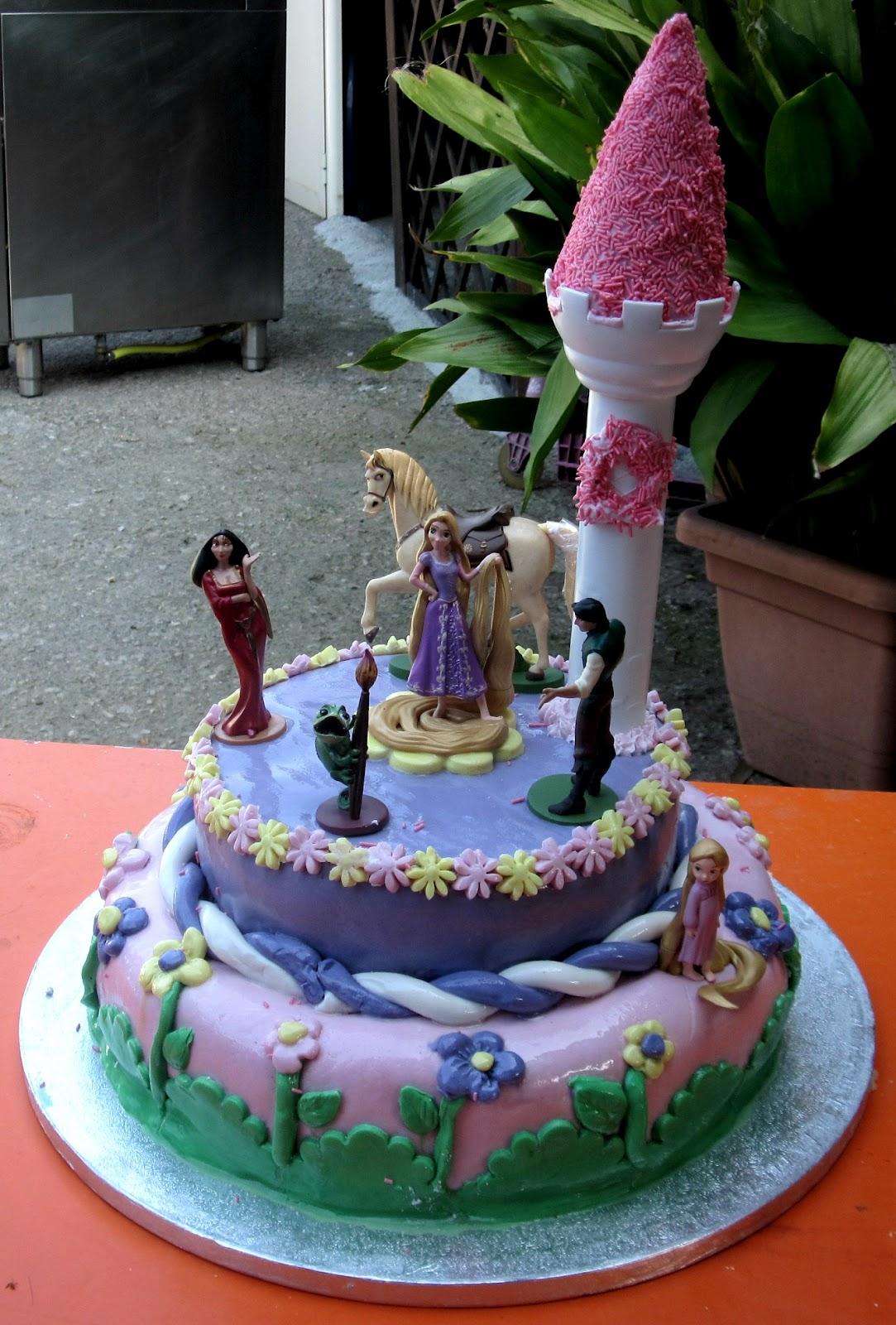 Famoso Le ricette di Nonna Celeste: Torta Rapunzel HM18