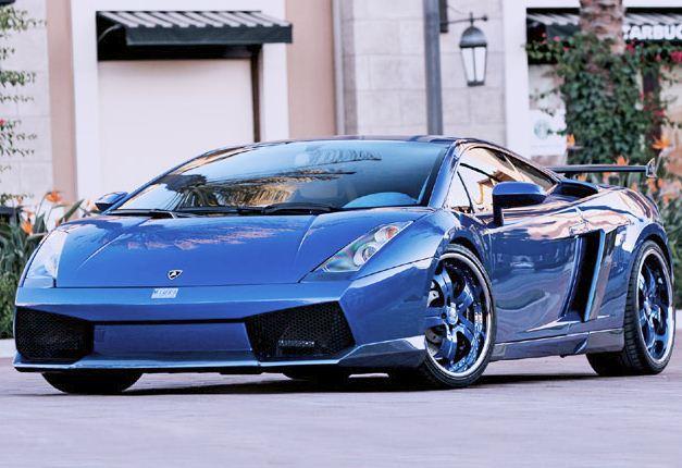 Hd Car Wallpapers Lamborghini Gallardo Spyder Blue