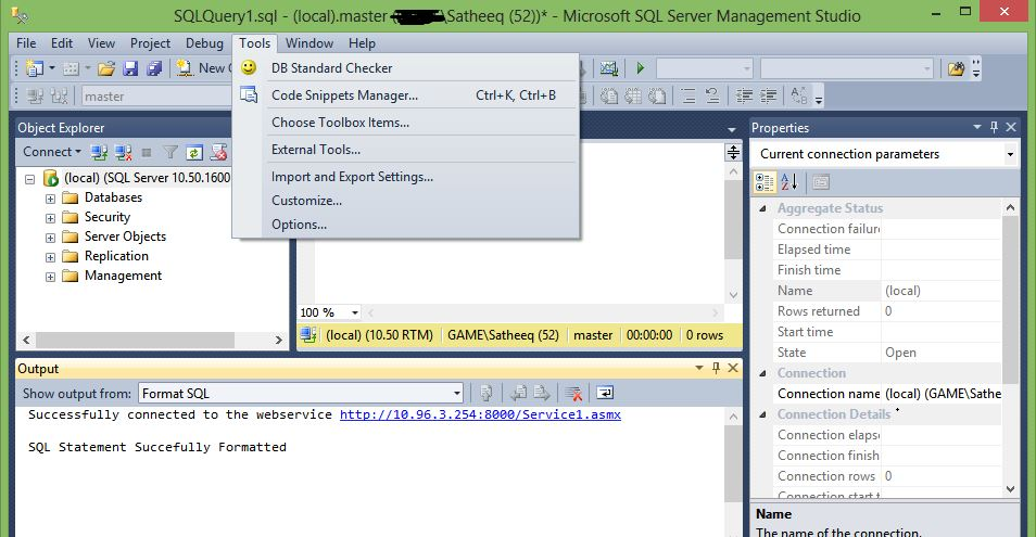 How To Write A Sql Server Management Studio 2012 Add In Techie Notes