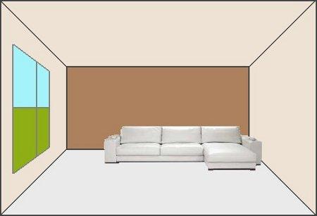 Cuatro maneras de pintar un ambiente for Pintar comedor dos colores