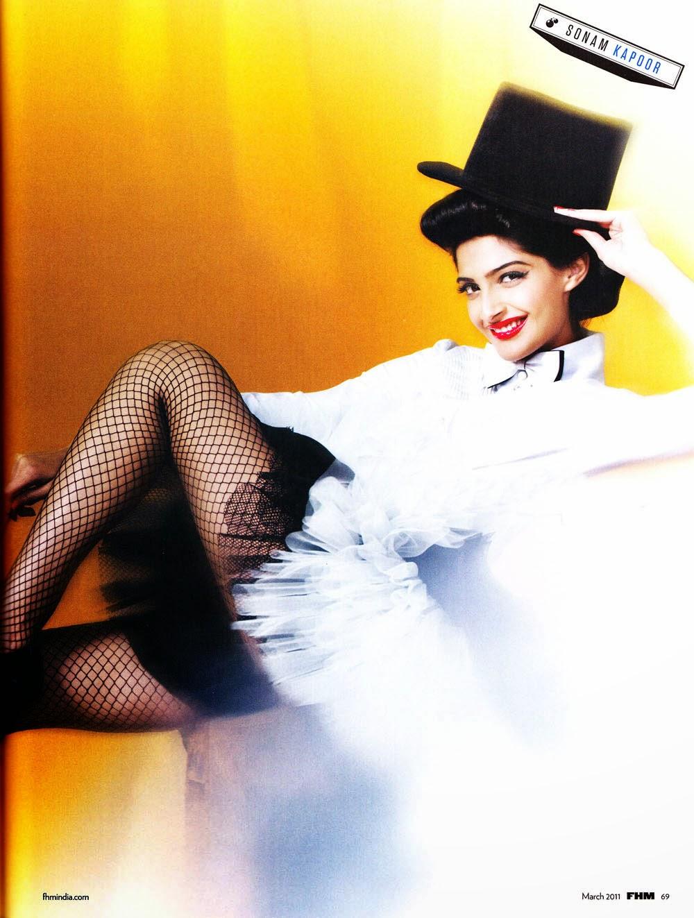 Sonam Kapoor in FHM Magazine