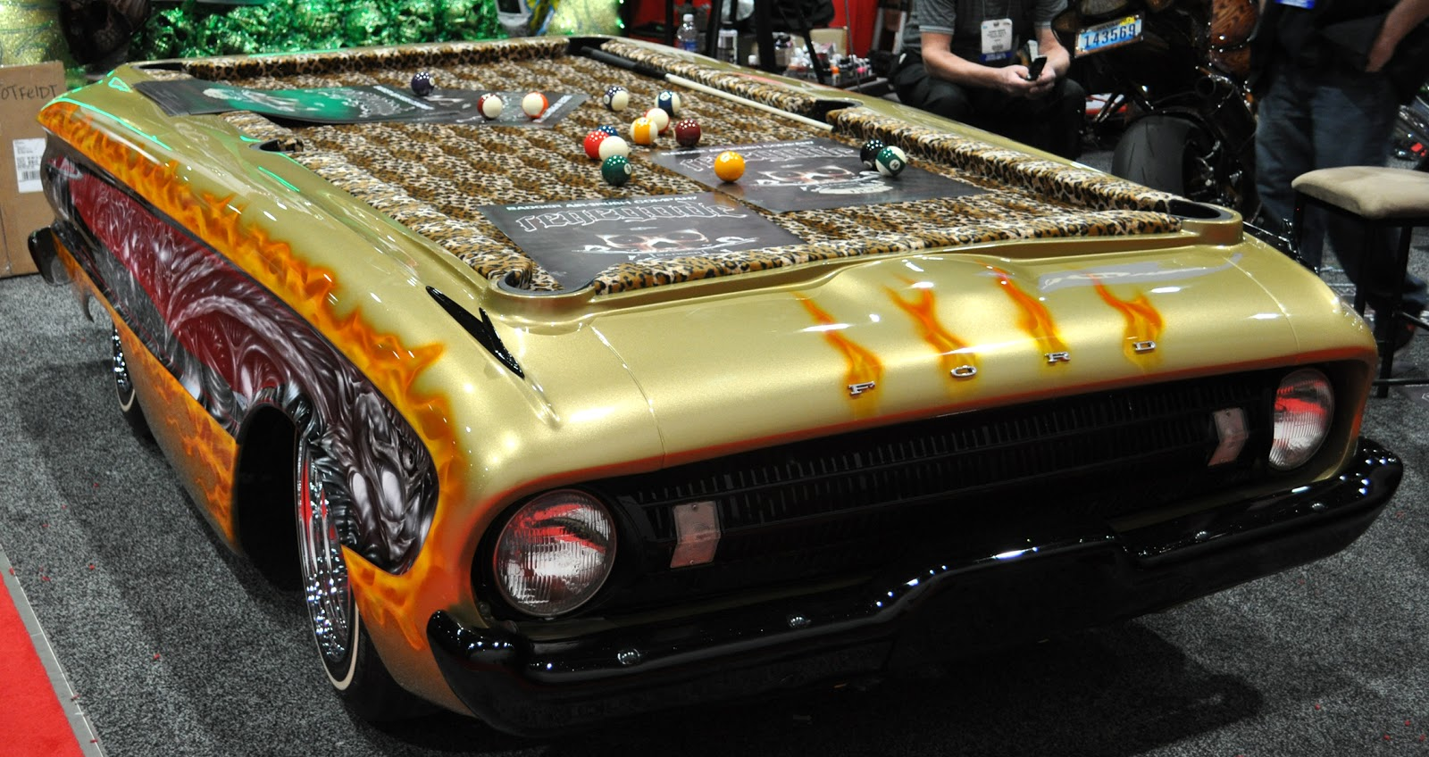 Just A Car Guy Counts Kustoms Had A Falcon With Very Little Good - Car pool table