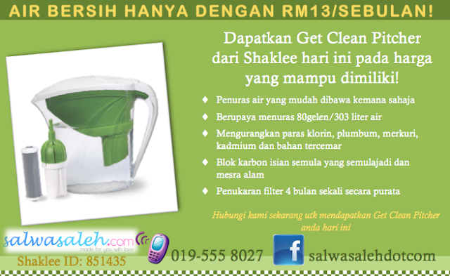 Shaklee water filter, shaklee water pitcher, get clean water pitcher