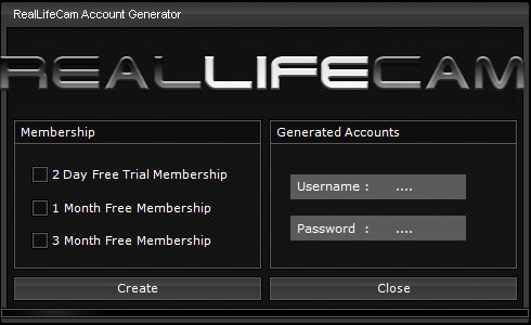 2014 Free Password RealLifeCam