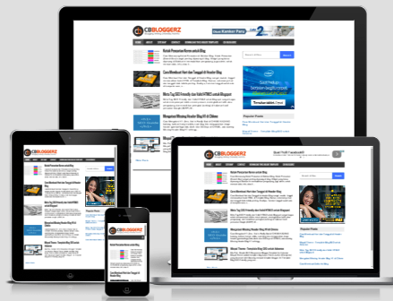 GBL Bloggerz - Simple & Clean Responsive Blogger Template