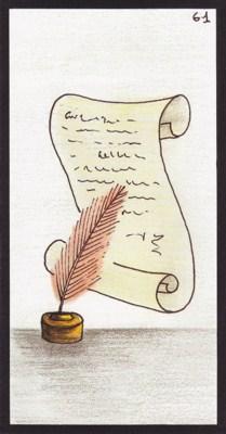 Oráculo Gé: 61. El Pergamino
