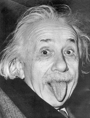 """Оригинал схемы вышивки  """"Эйнштейн """"."""