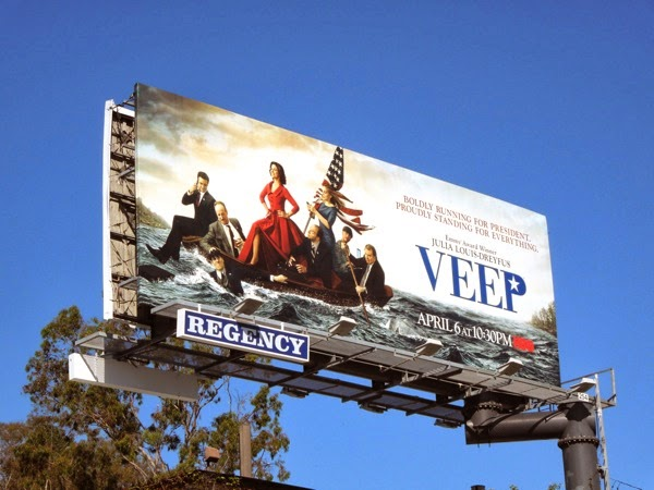 Veep season 3 HBO billboard