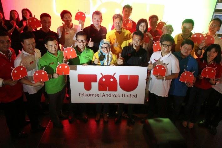 paket android telkomsel, Telkomsel Android United, TAU