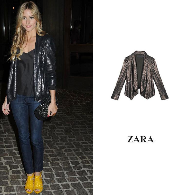 Your space vintage olivia palermo likes zara for Ariadne artiles soltera