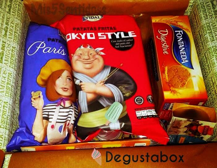 Degustabox Agosto 2014