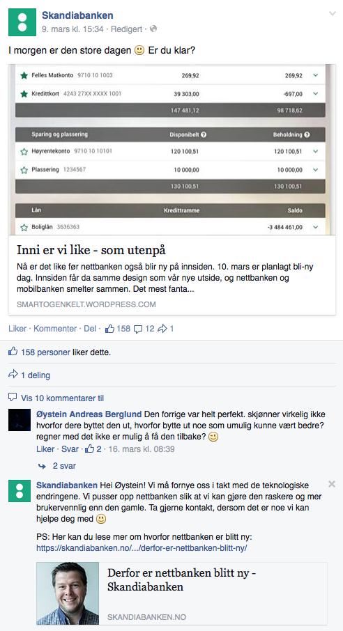 Skandiabanken eksempel 2