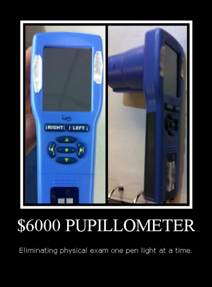 Pupillometer-LED