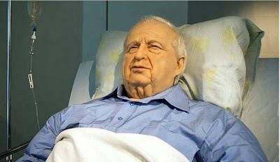 Kubur Pemimpin Kejam Israel, Ariel Sharon