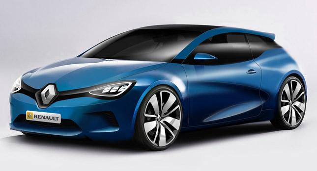 The designs are for a replacement of the sportier looking Megane Coupe