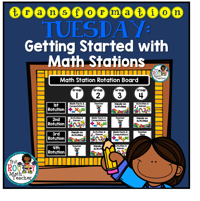 Getting Started with Math Stations