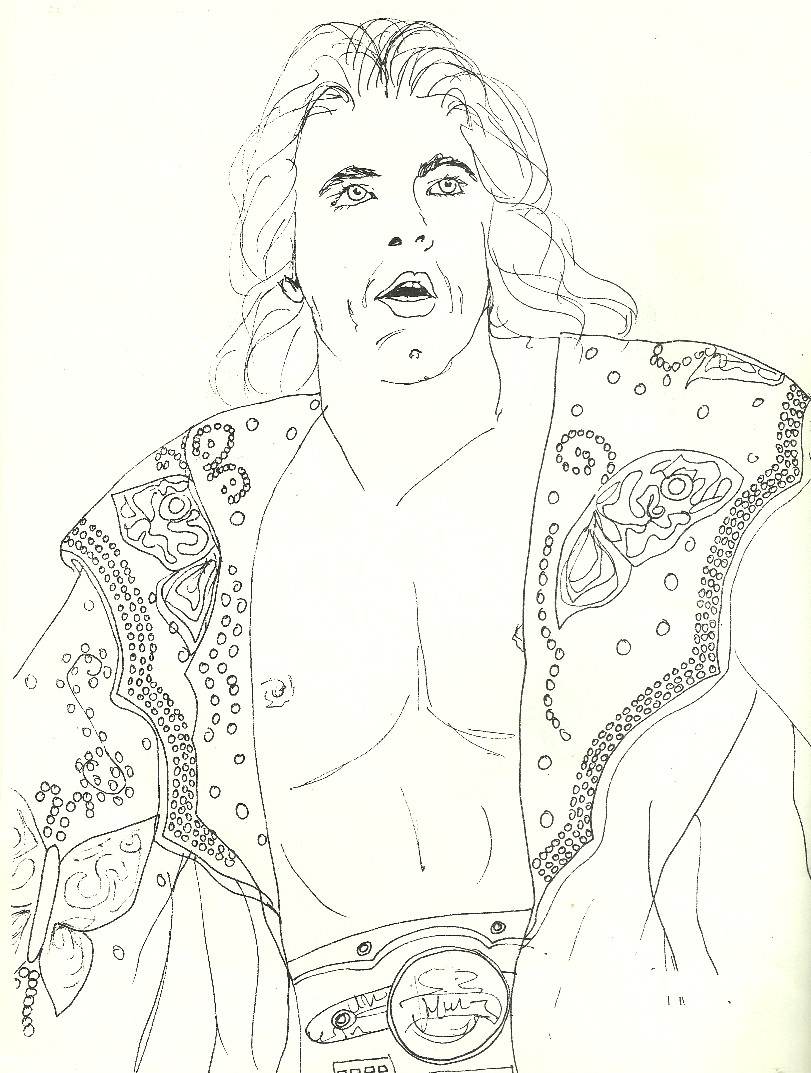 I Remember Portland Wrestling: Tom Peterson Coloring Book