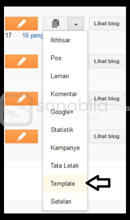 Cara Mudah Menginstall atau Memasang Template di Blogspot