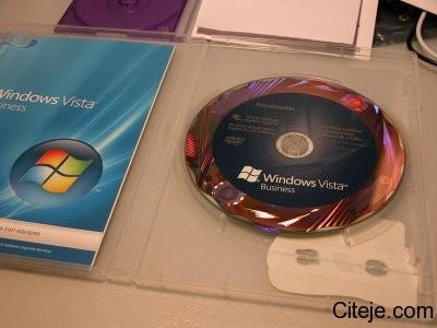 Terdapat Gambar Misteri Pada CD Windows Vista