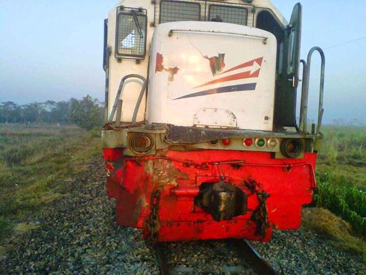 gambar kecelakaan kereta api