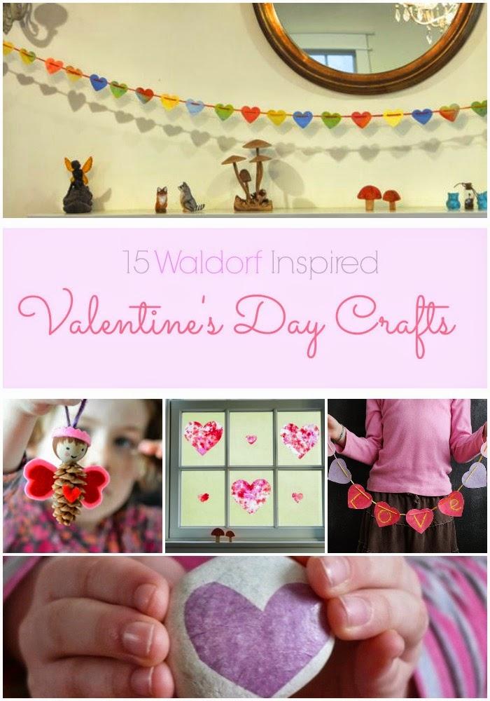15 Waldorf Inspired Valentine's Day Crafts